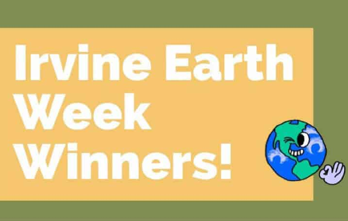 Irvine Earth Week Winners