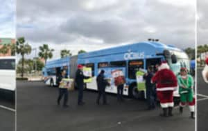 Stuff a bus toy drive OC Bus