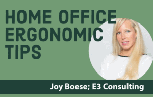 Ergonomics Home Office Tips
