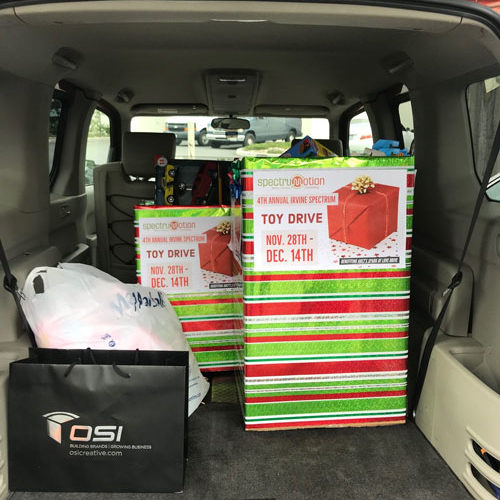 OSI Toy Drive Donations